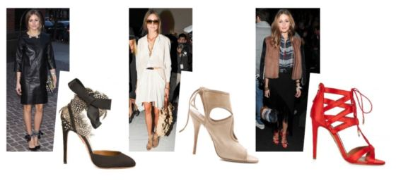 OLIVIA PALERMO loves AQUAZZURA